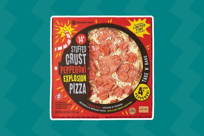 Sam's Club Stuffed Crust Pepperoni Explosion Pizza