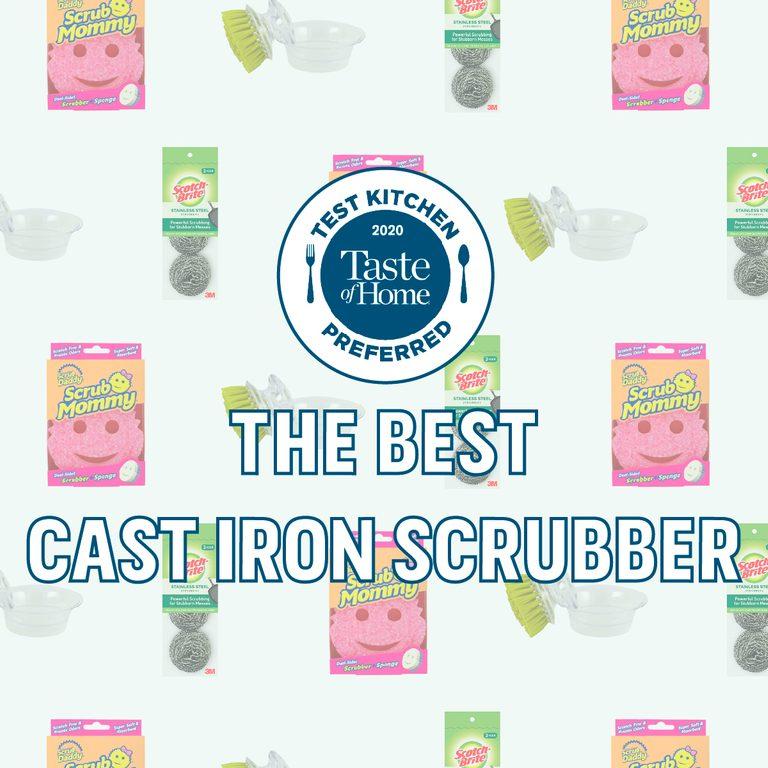 Test Kitchen Preferred The Best Cast Iron Scrubber TKP