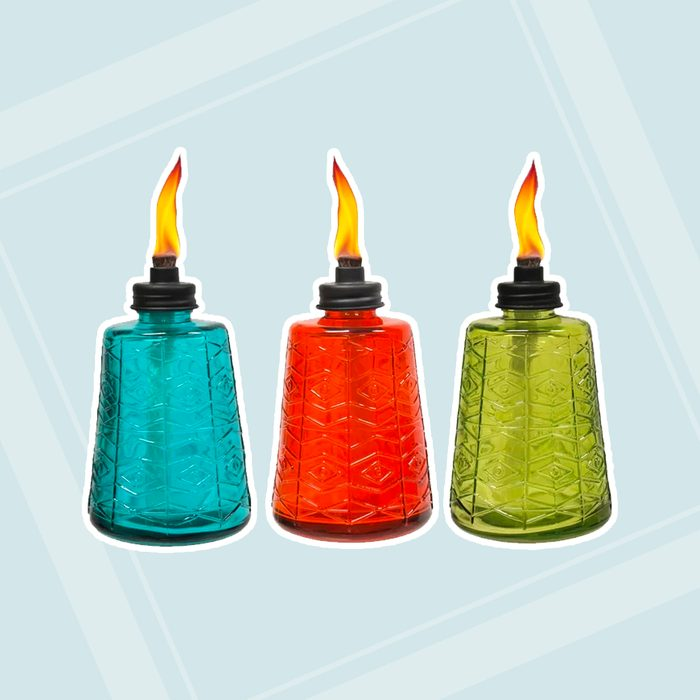 Tiki Brand Glass Tabletop Torch