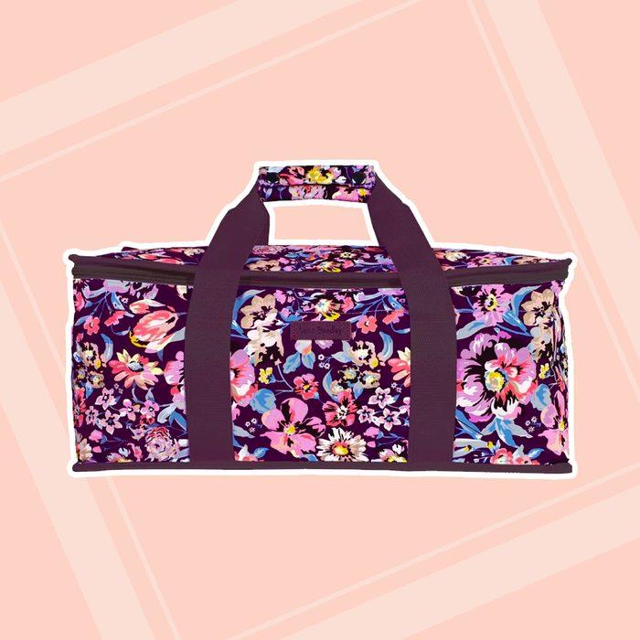 Vera Bradley Casserole Carrier Insulated Picnic Tote Bag