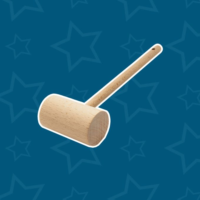 Wooden Seafood Mallet