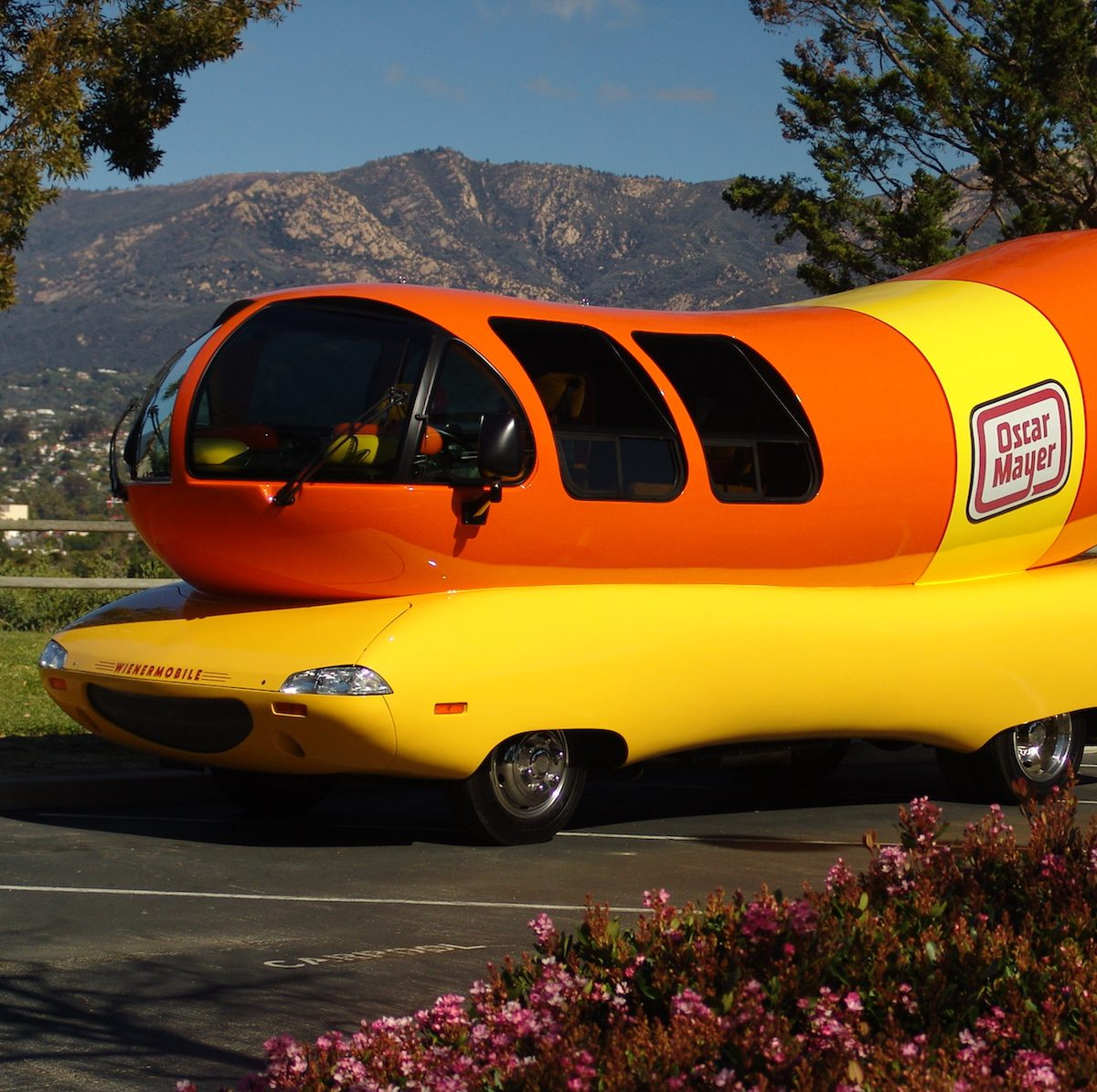 parking the wienermobile