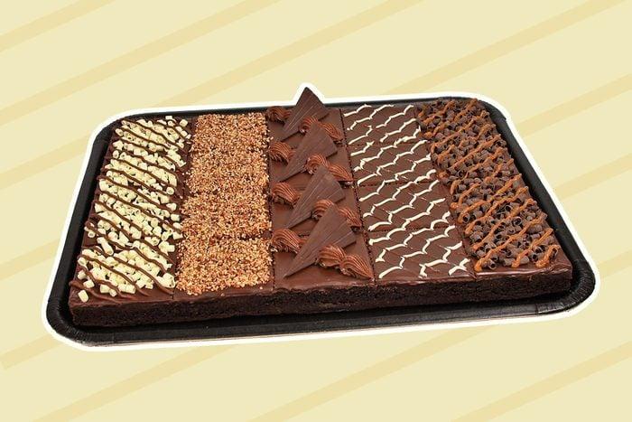 6-pound brownie platter