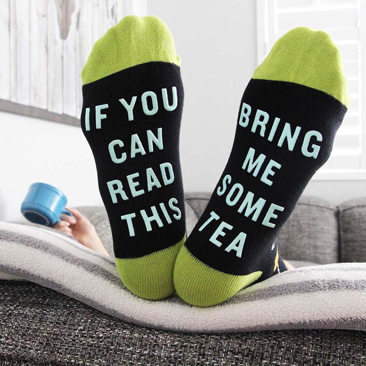 sock, tea