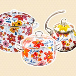 Aldi Is Releasing a Fresh New Line of Floral Cookware