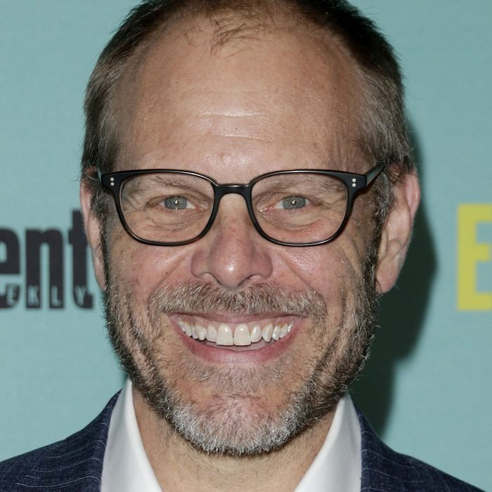 Alton Brown at the Entertainment Weekly's Annual Comic-Con Party at the Hard Rock Hotel on July 11, 2015 in San Diego, CA