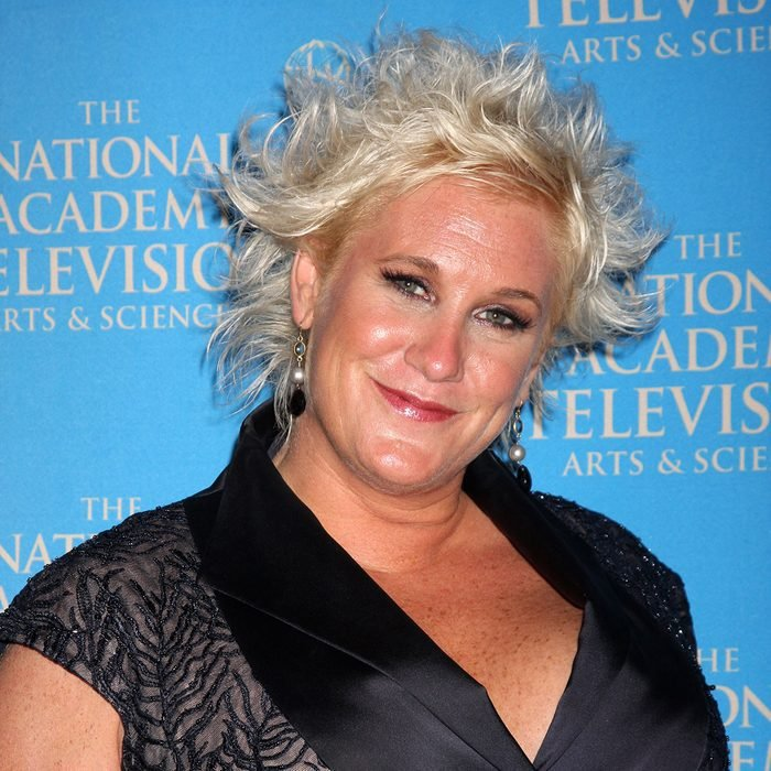 Anne Burrell in the Press Area at the 38th Annual Daytime Creative Arts & Entertainment Emmy Awards