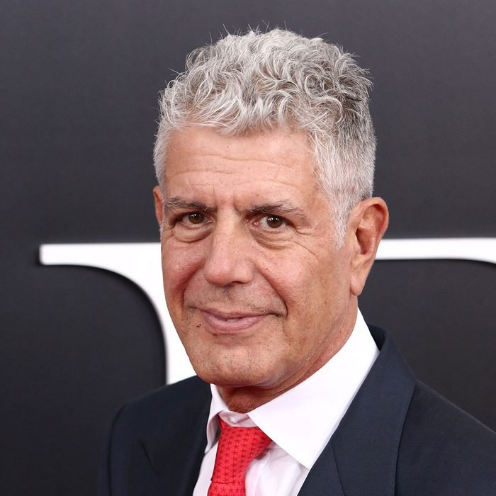 """nthony Bourdain attends the premiere of """"The Big Short"""" at the Ziegfeld Theatre"""