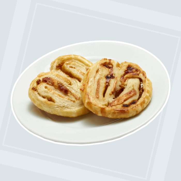 Brie and Onion Palmiers