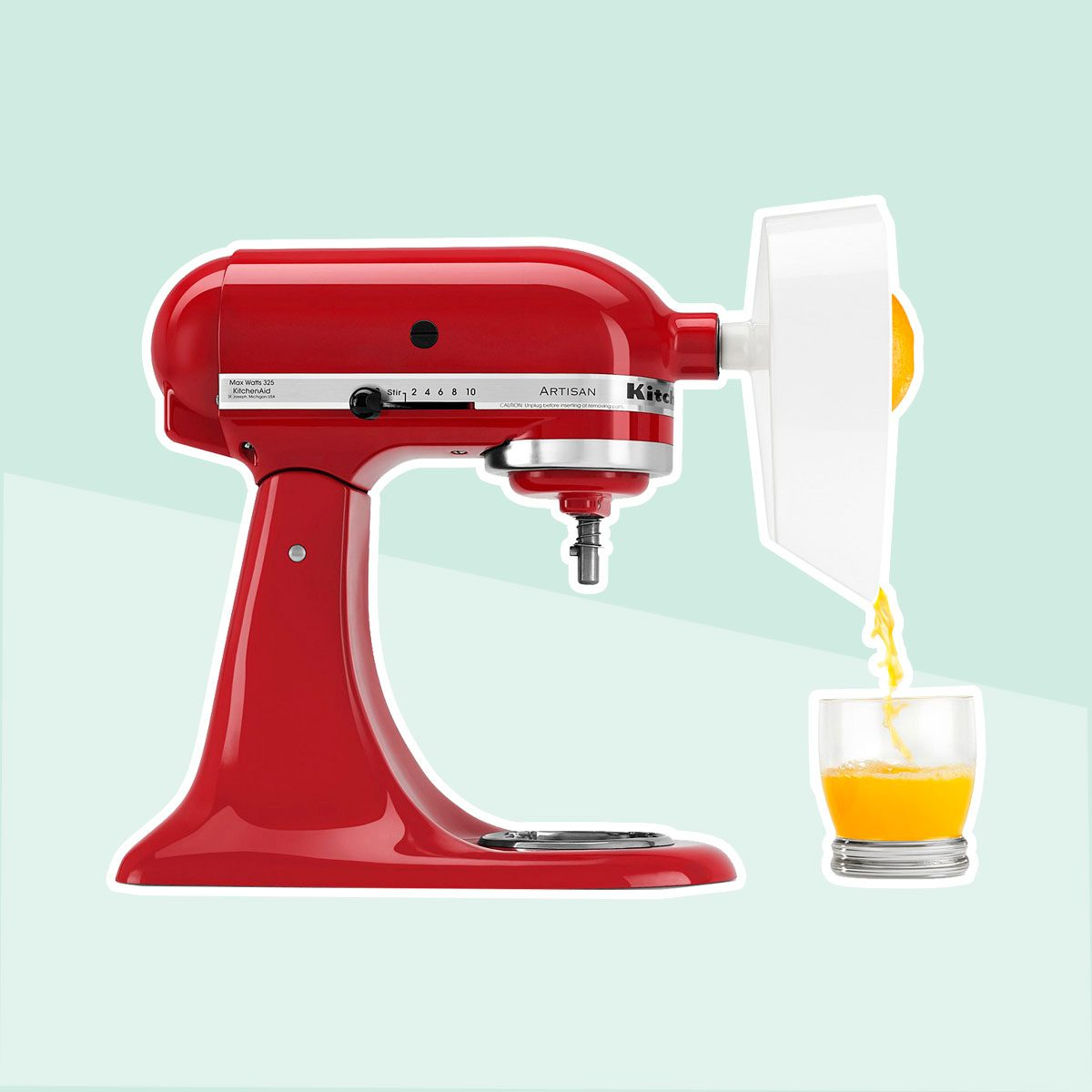 Citrus Juicer Attachment for a Stand Mixer