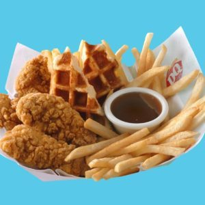 Dairy Queen is Launching a Chicken & Waffles Basket