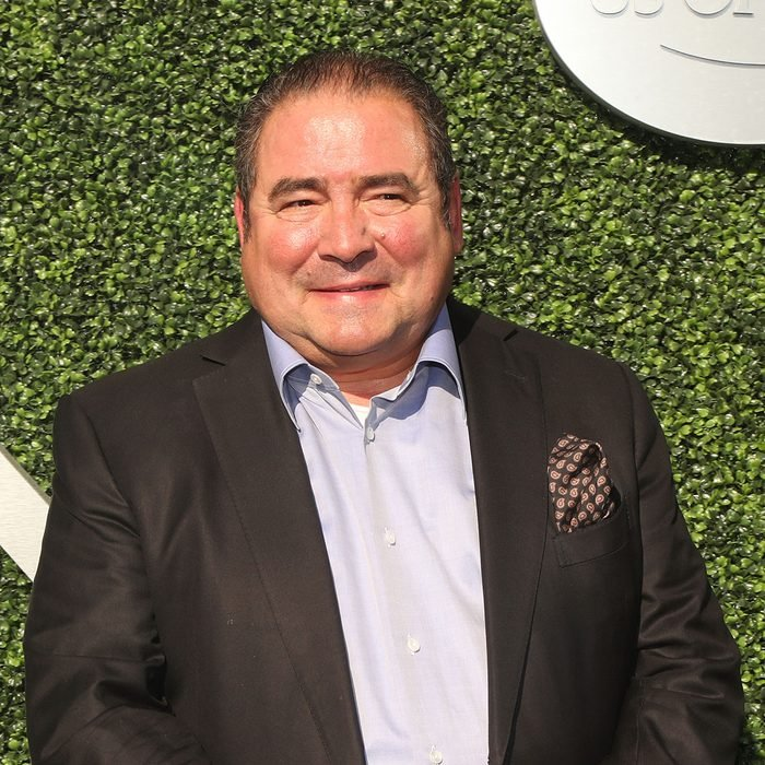 American celebrity chef and TV personality Emeril Lagasse attends the 2016 US Open Opening Night held at the USTA Billie Jean King National Tennis Center in NY