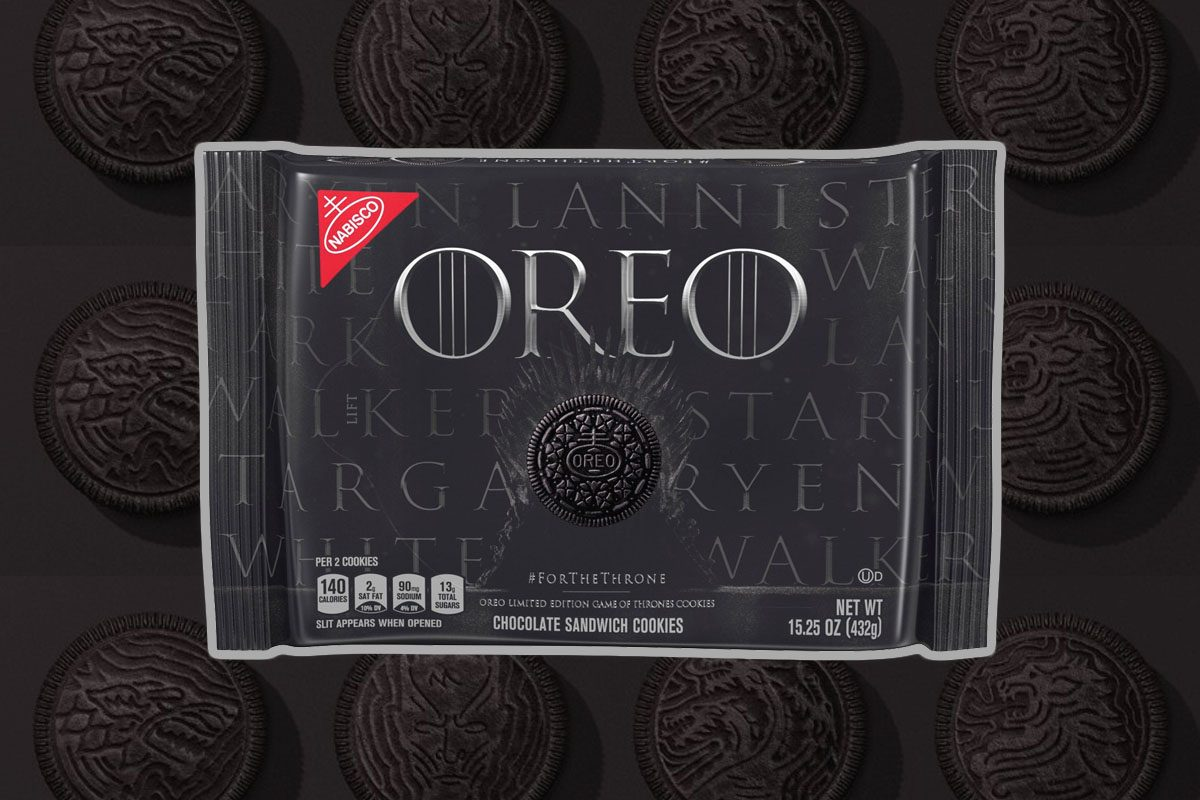 Game Of Thrones Oreos Have Arrived For The Season 8