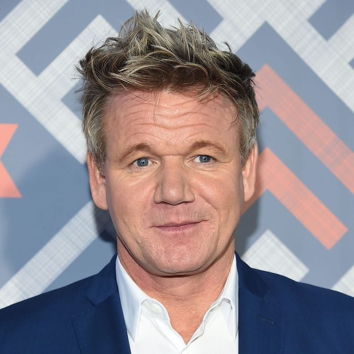 Gordon Ramsay arrives for the FOX TCA Summer Press Tour 2017 on August 8, 2017 in West Hollywood, CA