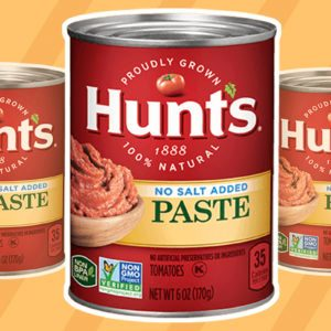 Hunt's Tomato Paste Recalled for Mold Contamination