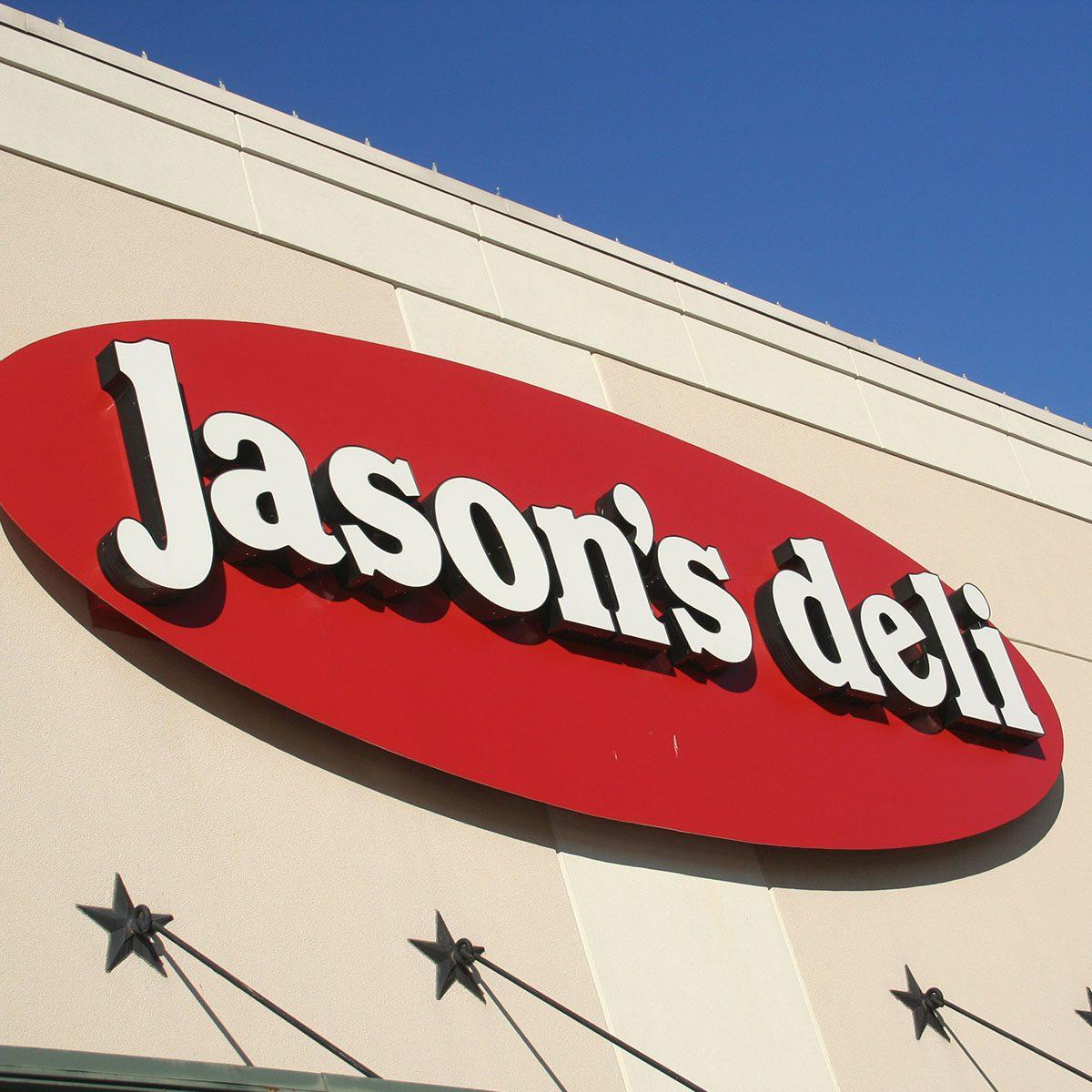 Jason's Deli Sign