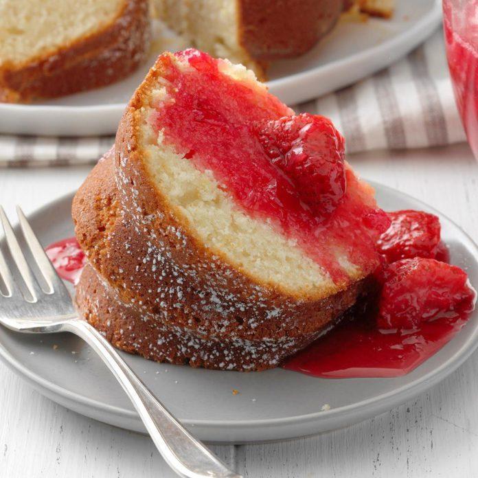 1st Place: Lemon Rhubarb Bundt Cake