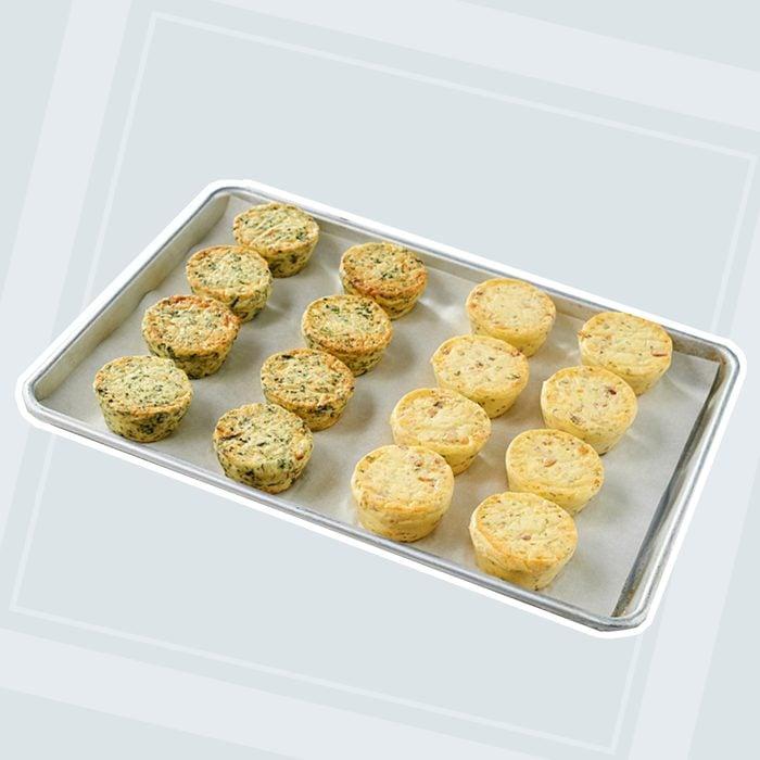 Oak Stove Kitchen Crustless Quiche