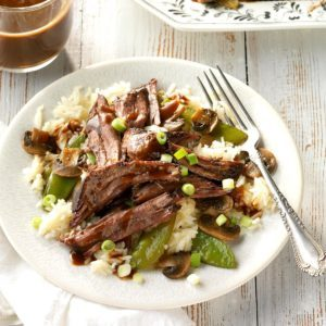 Pressure Cooker Pot Roast with Asian Black Bean Sauce
