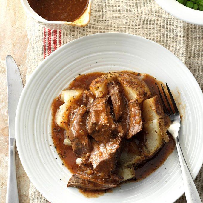 Pressure-Cooker Round Steak Italiano