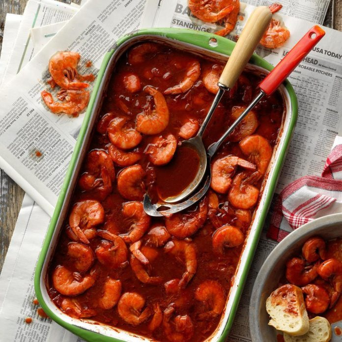 Saucy Barbecue Shrimp