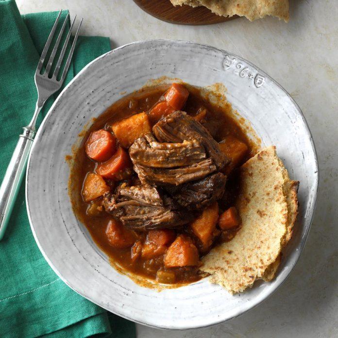 Pressure Cooker Caribbean Pot Roast