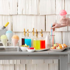 How to Throw a Summery Snow Cone Party