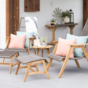 patio furniture, ostertag family project