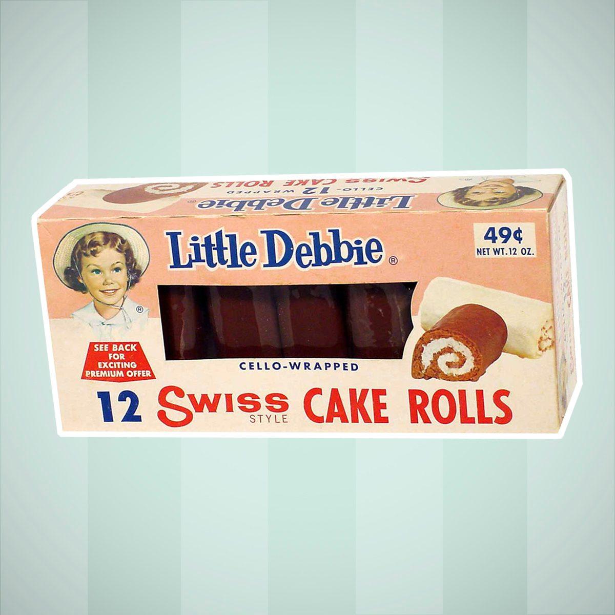 Vintage Swiss Cake Rolls
