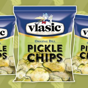 Vlasic Pickle Chips feature