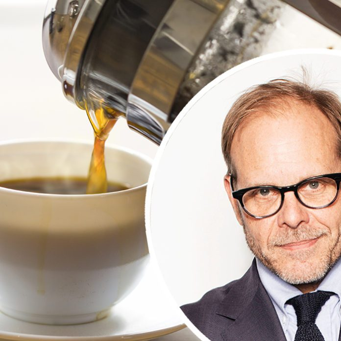 Alton Brown Adds This Strange Ingredient to His Coffee