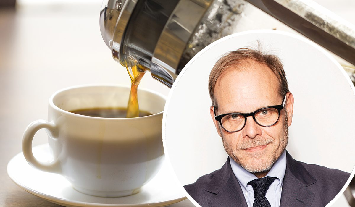 alton brown coffee secret