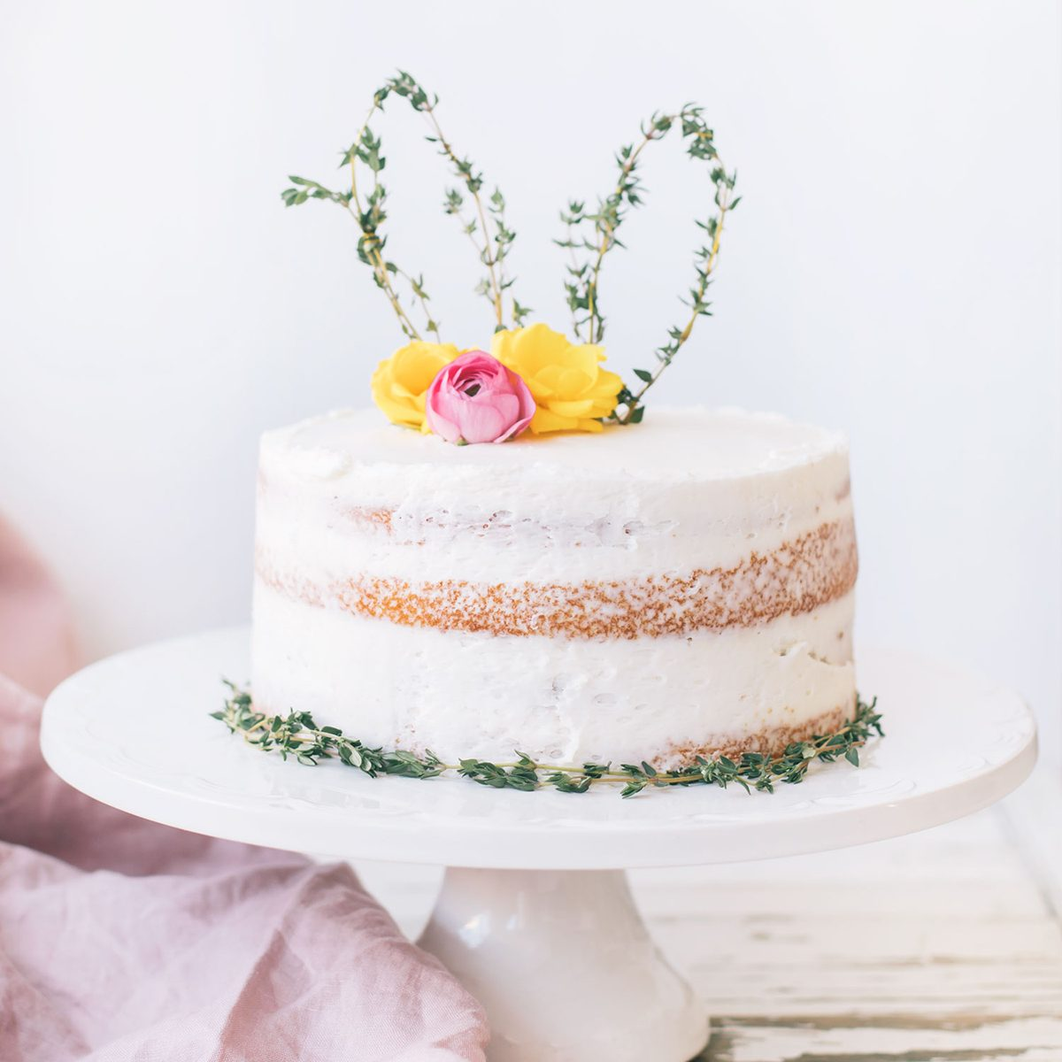 THYME BUNNY EAR CAKE TOPPER
