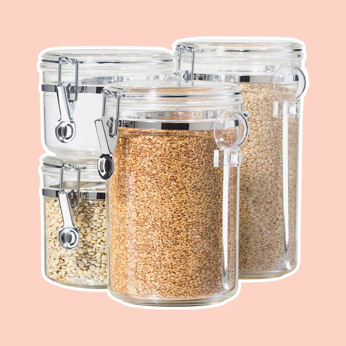 Merveilleux Canister Set For Dry Goods