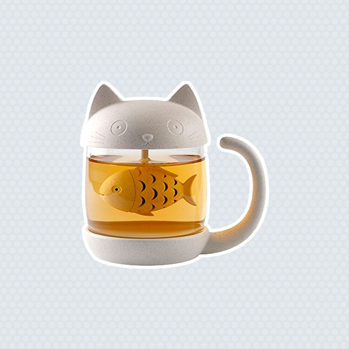 Cat Tea Cup with Infuser