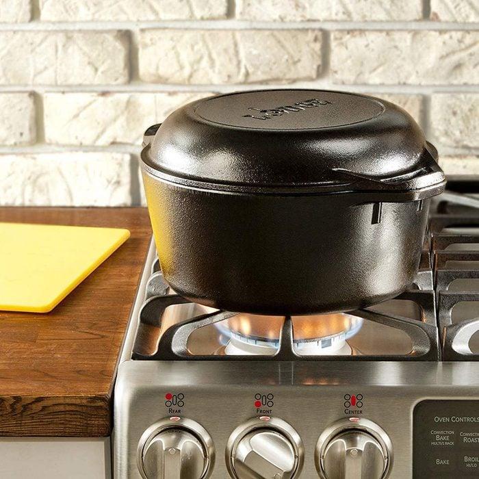 dutch oven deep frying