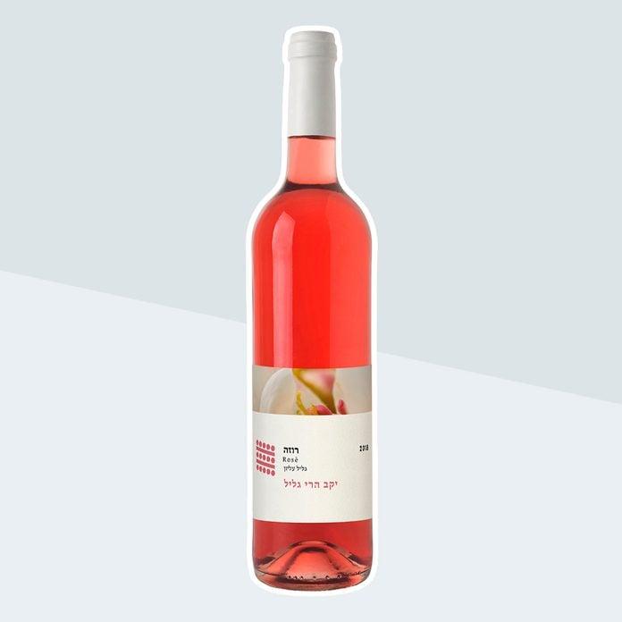 Galil Mountain Winery Rose Kosher Wine