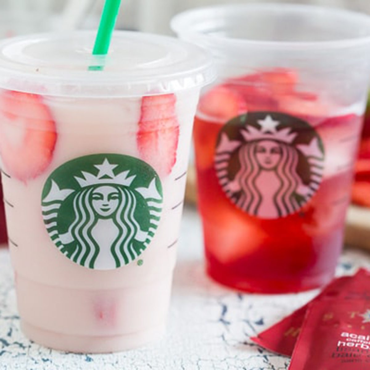 How To Make A Strawberry Refresher More Copycat Starbucks Drinks