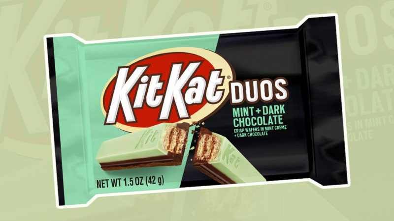 Kit Kat Has Revealed a Stunning New Mint + Dark Chocolate Bar