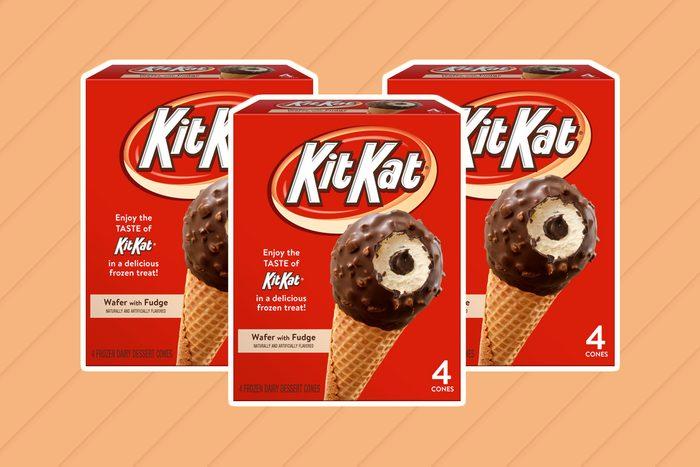 kit kat, ice cream