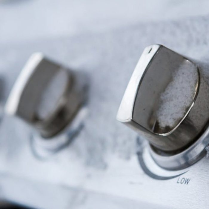 Knobs of a grill
