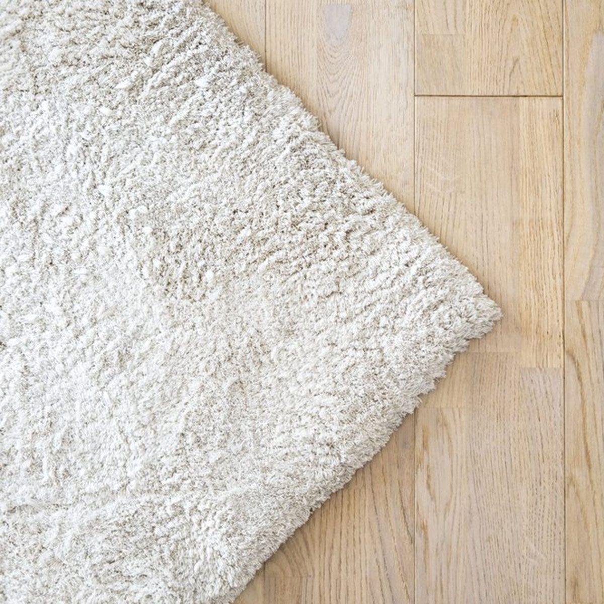 Rug on hard floor