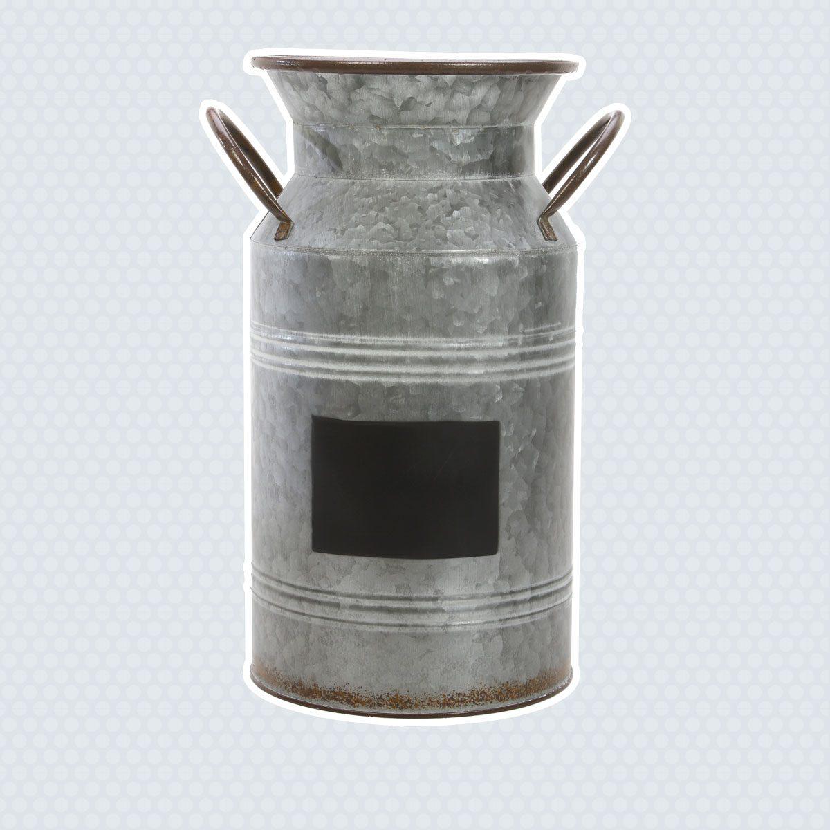 Metal Milk Jug