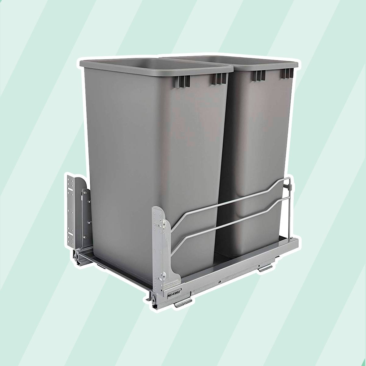 Pull-out waste container