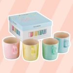 Everyone Should Have This Set of Beautiful, Shimmering Le Creuset Mugs