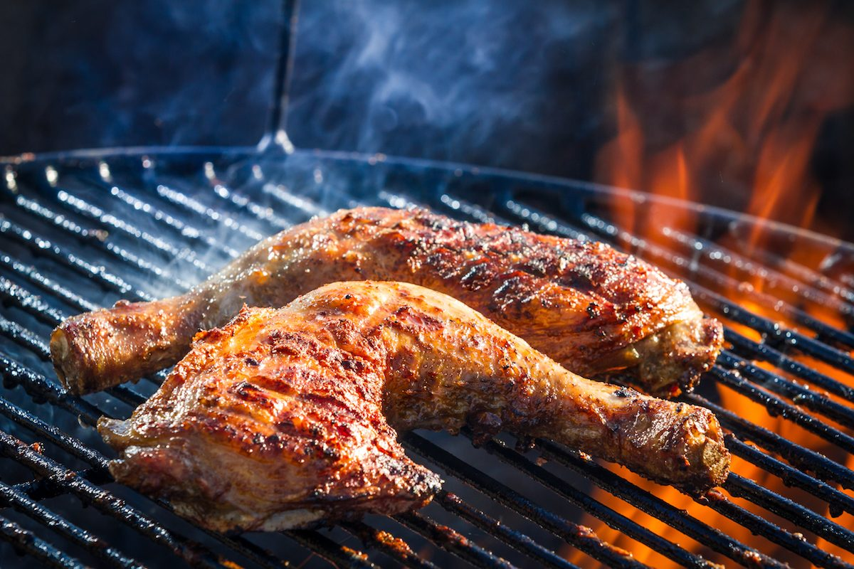 How To Make Grilled Chicken Legs Marinade Recipe Taste Of Home