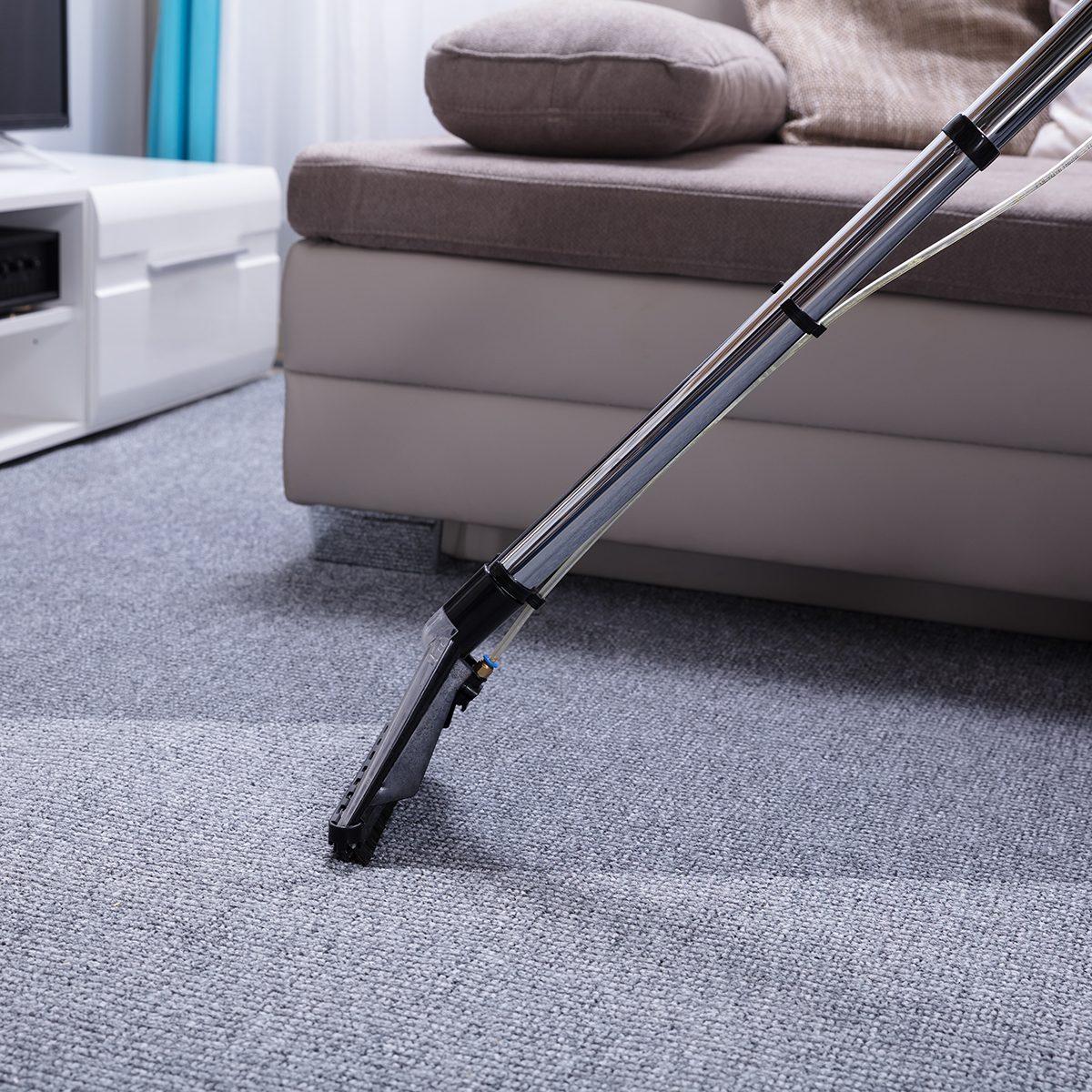 Close-up Of A Vacuum Cleaner Over Grey Carpet; Shutterstock ID 1073809973; Job (TFH, TOH, RD, BNB, CWM, CM): TOH