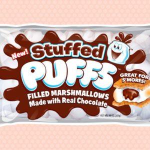 Stuffed puffs stuffed marshmallows
