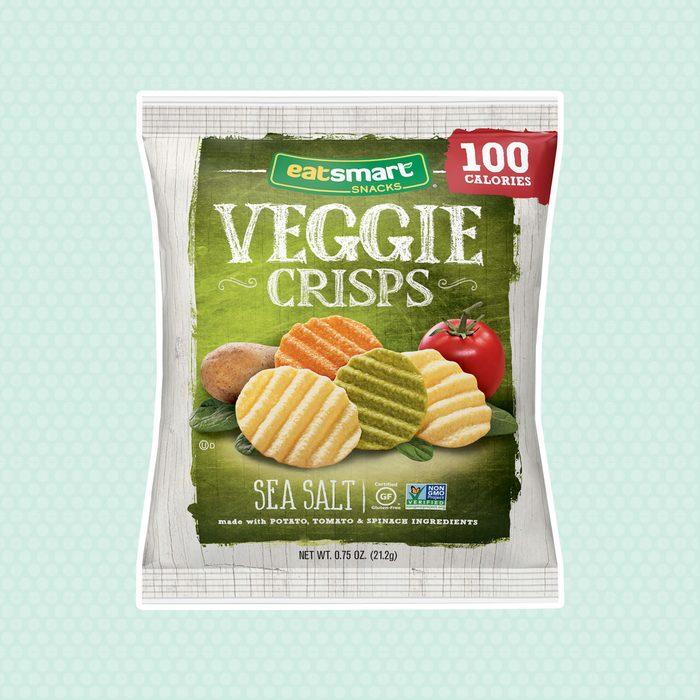 Eatsmart Sea Salt Veggie Crisps Snack, 8 Count