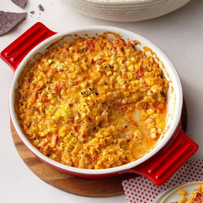 Chipotle Mexican Street Corn Dip with Goat Cheese